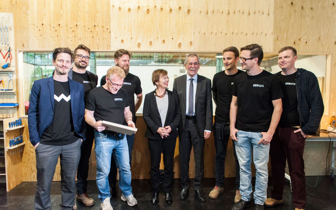 Eröffnung mit Besuch von Alexander Van der Bellen