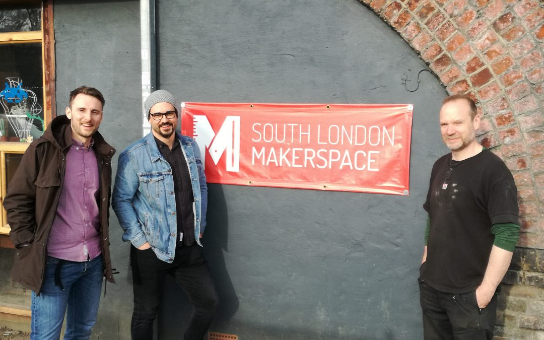 London Calling: Steyr-Werke beim South London Makerspace